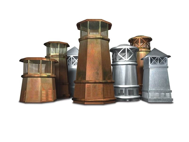 Chimney Pots and Caps